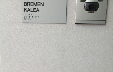 Rotulación y señalética Braille