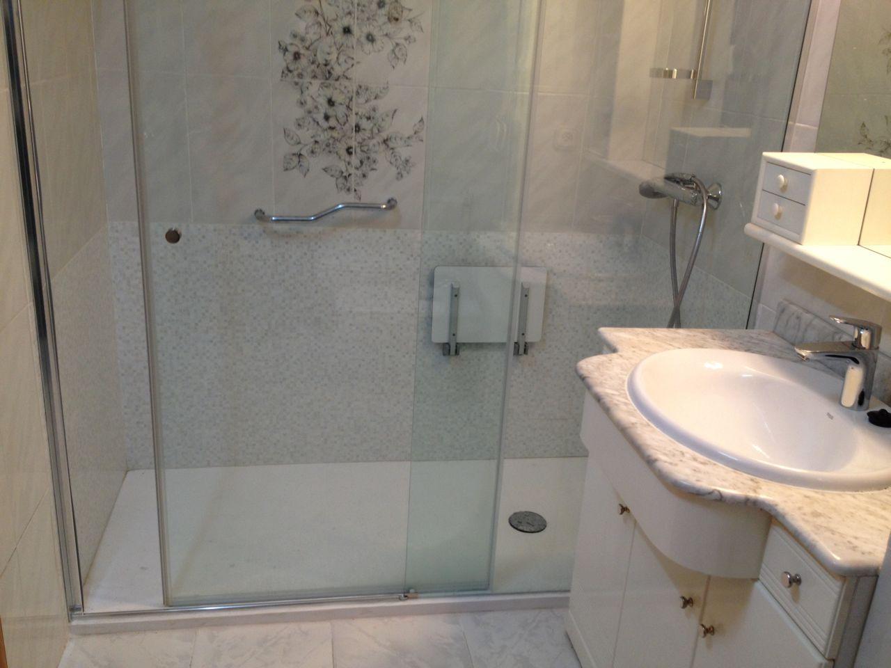 Cambio de ba era por ducha c avenida gasteiz instal lux - Banera o plato de ducha ...