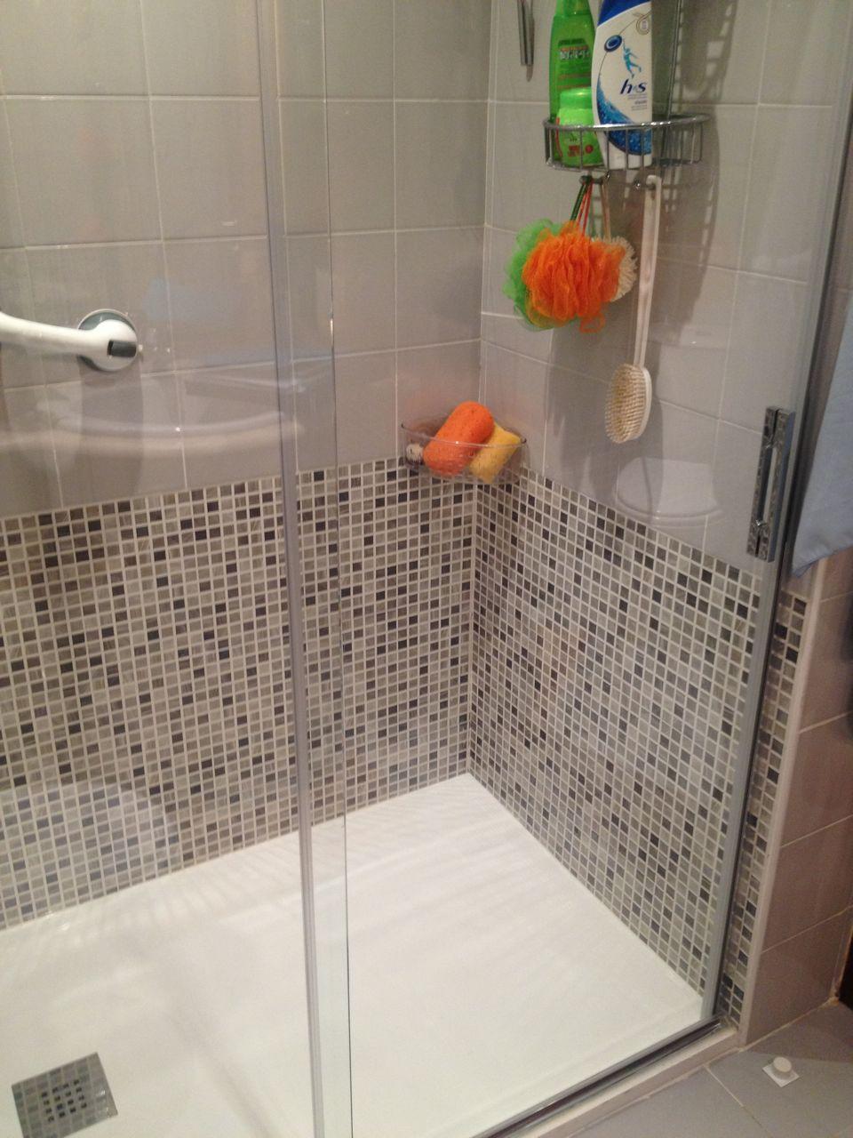 Cambio de ba era por ducha c xabier instal lux - Banera ninos para ducha ...