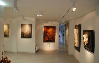 La Cuadra · Taller de pintura y sala de exposiciones