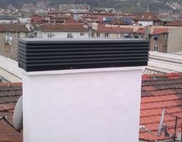 Reparación de chimeneas c/ Henao (Bilbao)